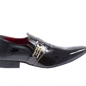 052 Sapatos masculino Lopes clássico preto