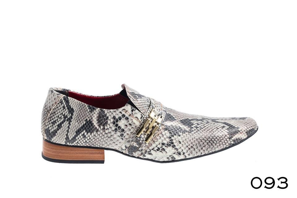 1ec121e0f8 Sapatos masculino Couro estampa cobra – ITA Comfort