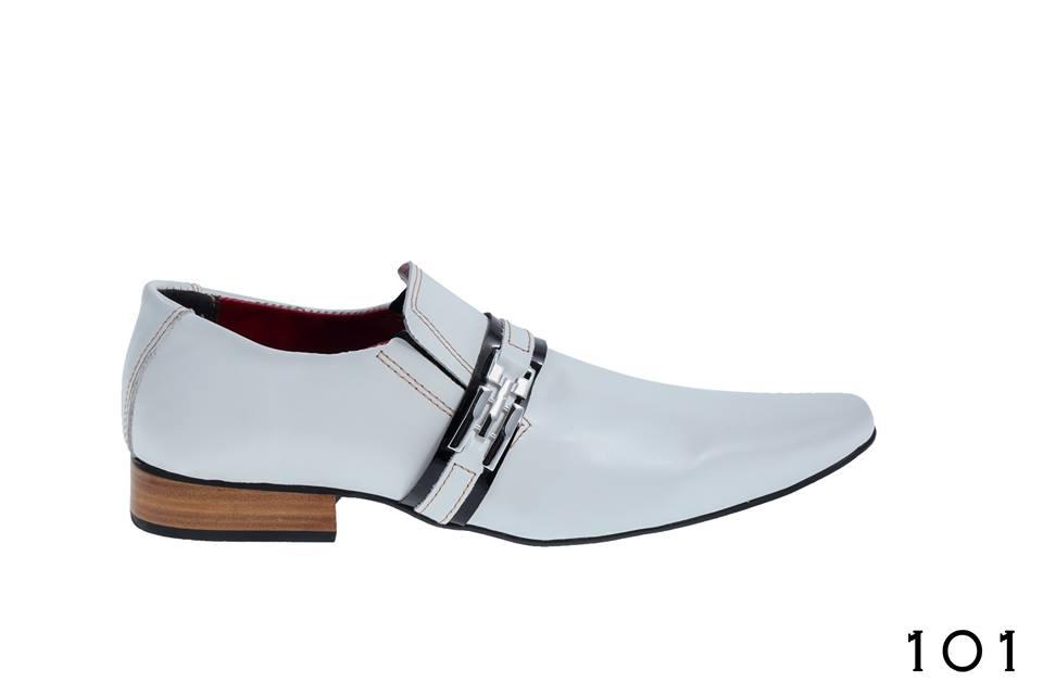 d76a0d7992 Sapatos masculino Lopes Branco cromo e verniz preto – ITA Comfort