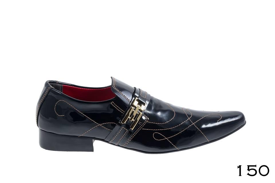 Calçados verniz preto