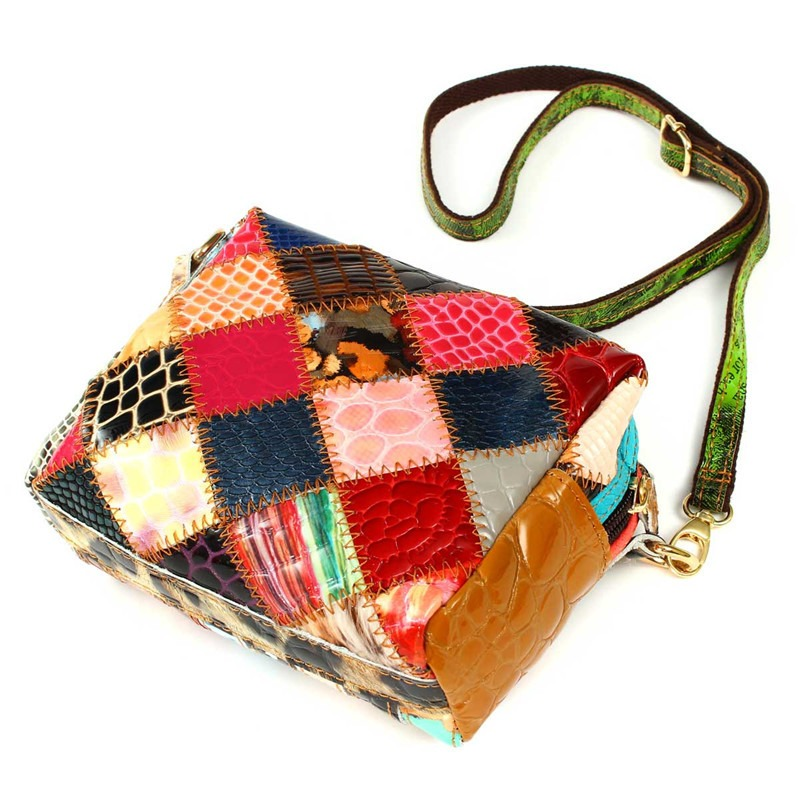 Bolsa De Ombro Queens : Aequeen genu no das senhoras de couro bolsa ombro