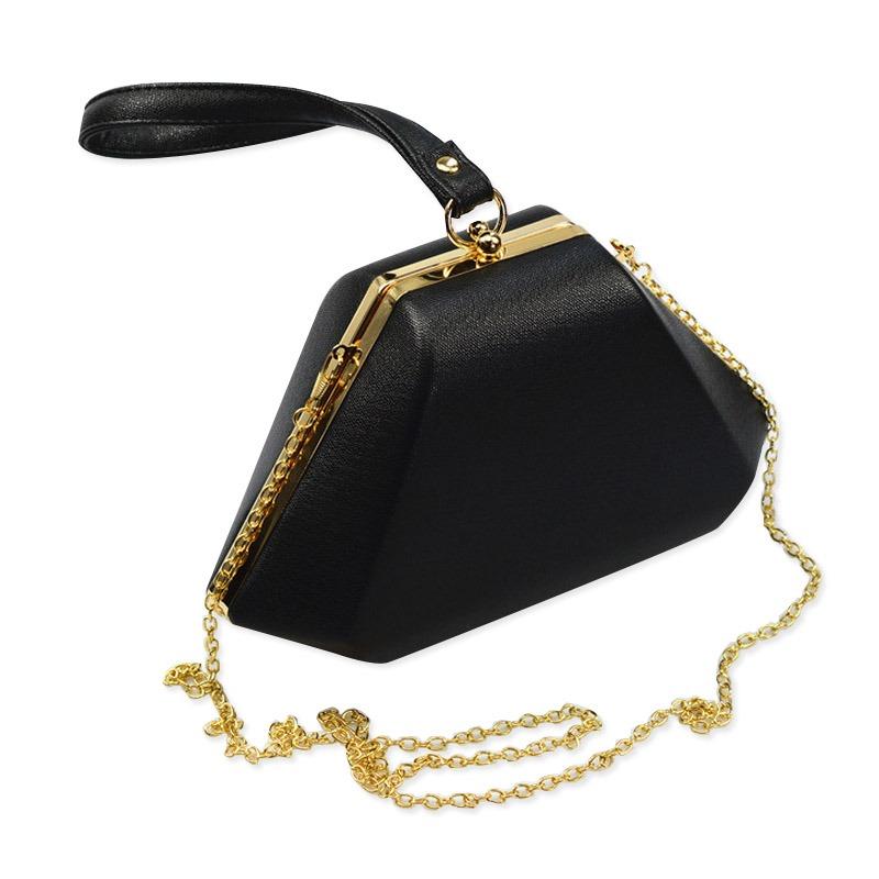 Bolsa De Couro Noite : Geom?trica minimalista sacos de noite das mulheres bolsas