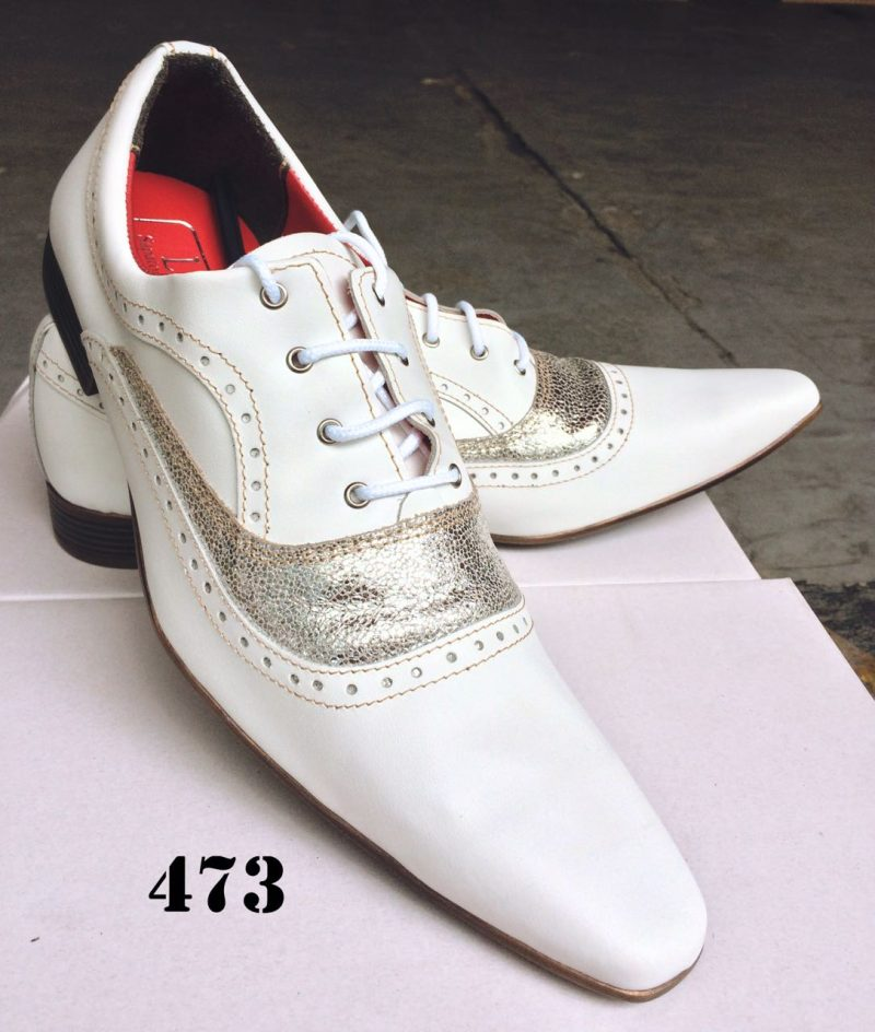 Branco com glitter 473