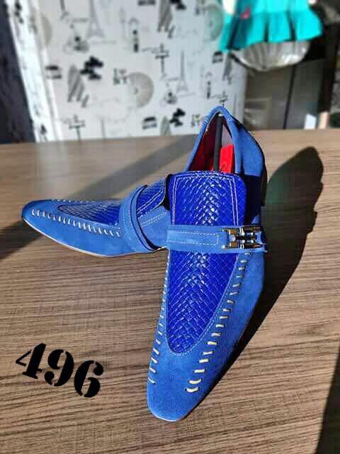 Camurça azul e trice azul 496