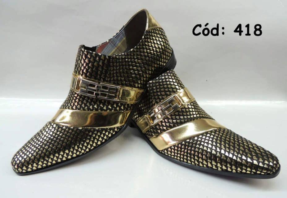 1574bc11b Crocodilo dourado e preto com dourado ANZ-418 – ITA Comfort