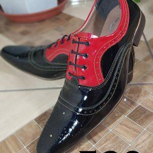 Verniz preto verniz vermelho