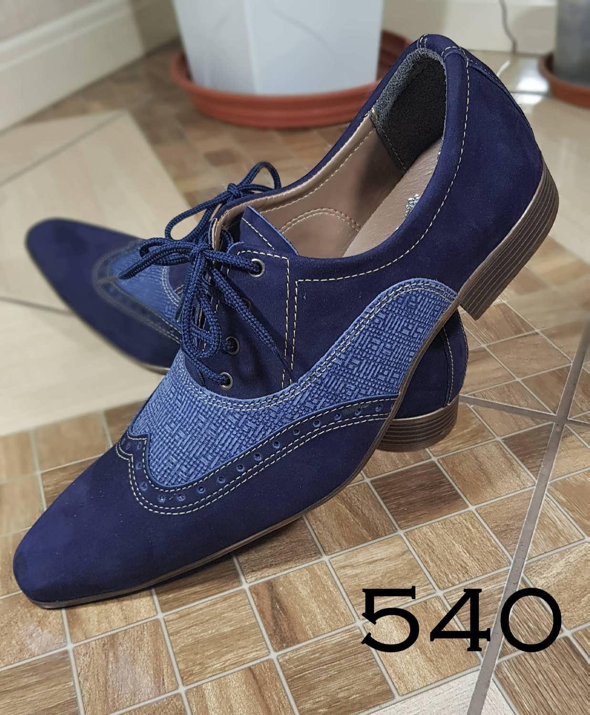 f7da653f5c Nobuck azul marinho e couro brim 540 – ITA Comfort