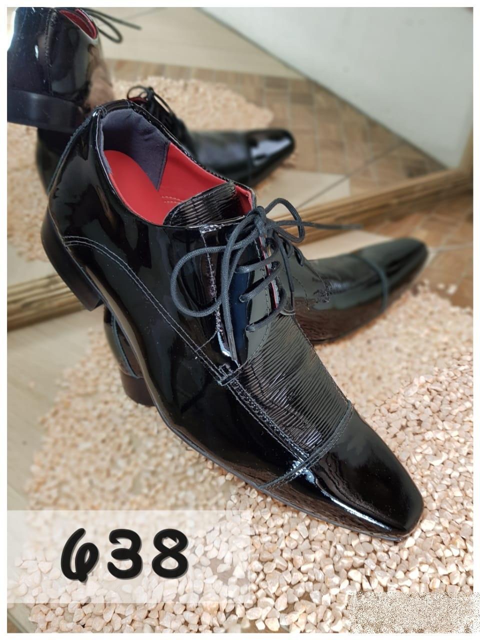 24826de27 Sapatos social verniz preto lezard verniz preto 638 – ITA Comfort