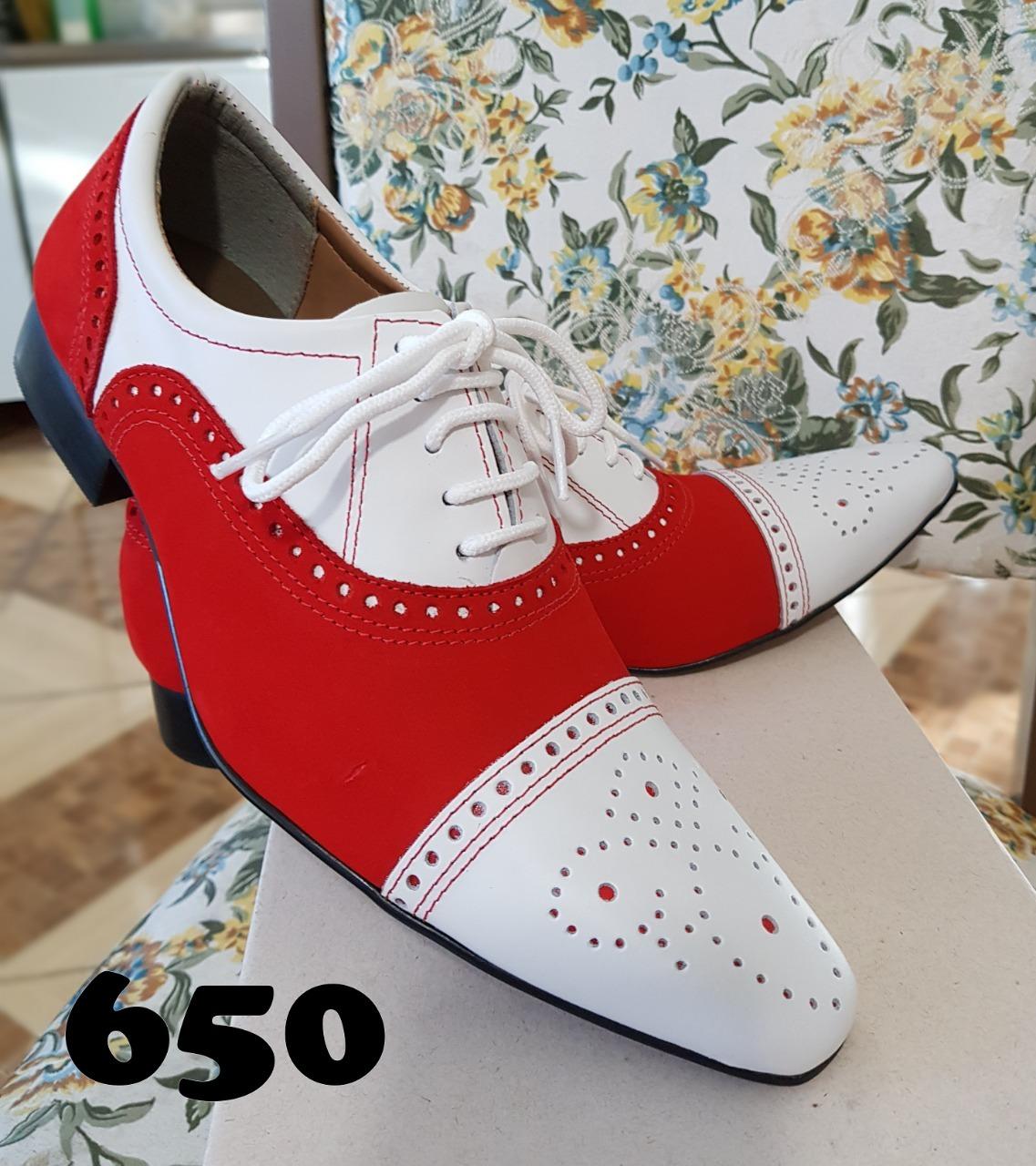 efef01c84 Sapatos masculinos branco com preto