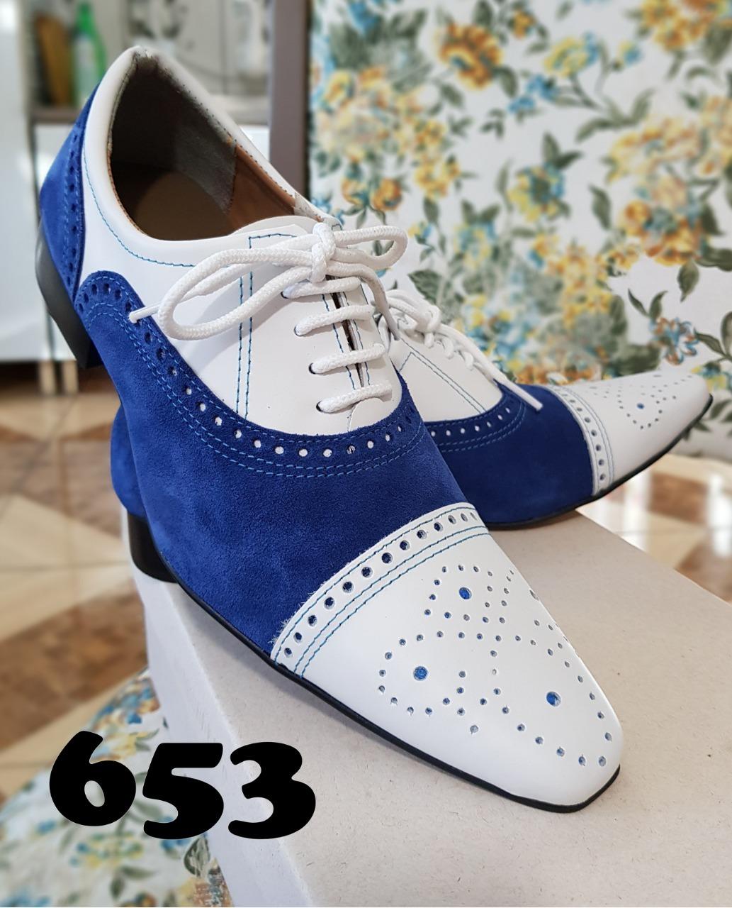 Sapatos masculinos branco com preto, vermelho, azul escuro, amarelo ou azul