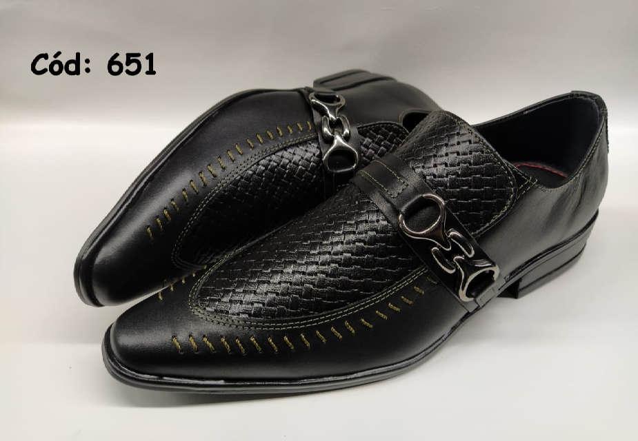 Sapatos sociais masculino em preto ANZ651