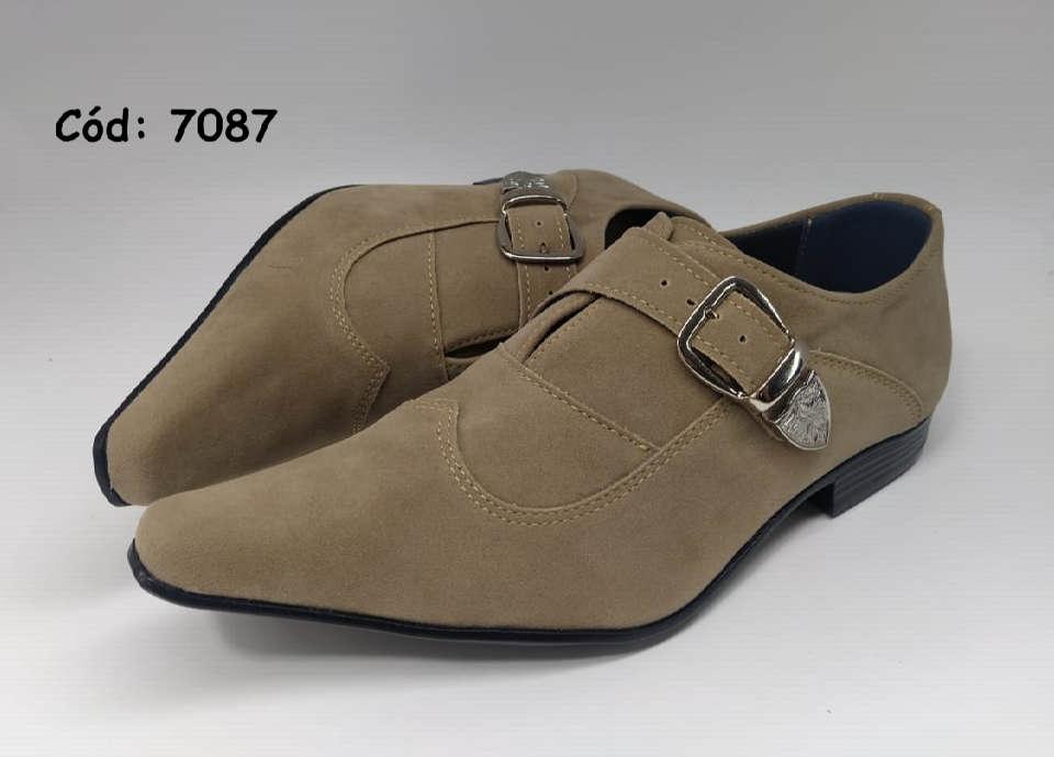Sapatos sociais em marrom anz7087