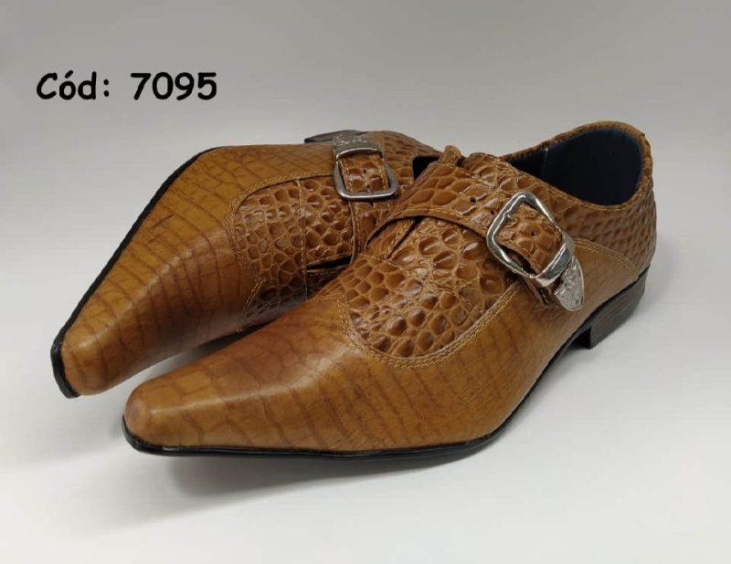 Sapatos sociais em couro de boi cor marrom anz7095