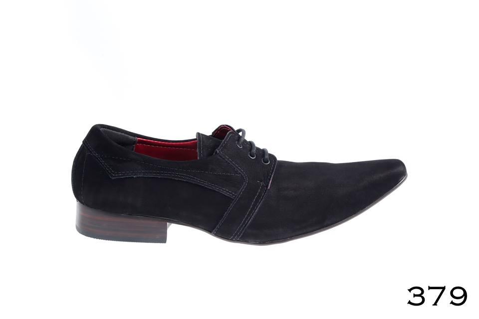 Sapatos sociais masculinos: Nobuck preto