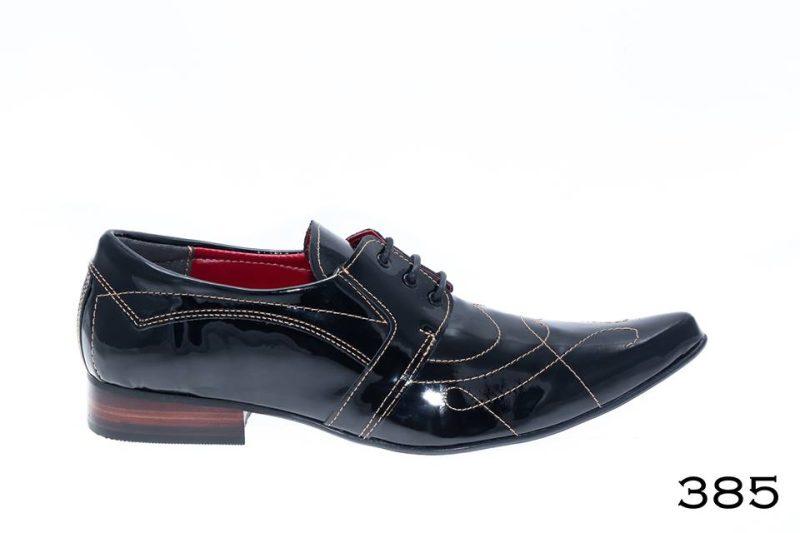 sapatos masculinos verniz preto